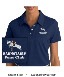 BPC Ladies Grand Prix Polo Design Zoom
